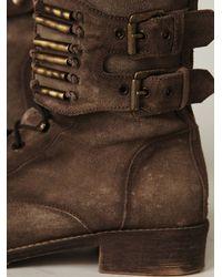 Free People - Brown Bullet Boot - Lyst