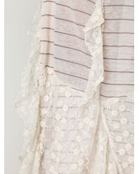 Free People | White The Hills Are Alive Slip | Lyst