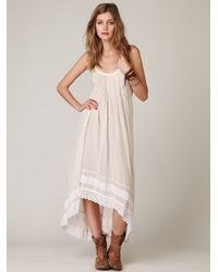 Free People | White Fp One Sunburst Maxi Dress | Lyst