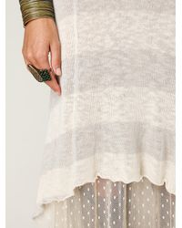 Free People | Natural Striped Maxi Dress | Lyst