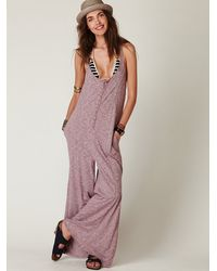 Free People | Purple Island Hopper | Lyst