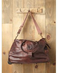 Free People | Brown Campomaggi Trolly Bag | Lyst