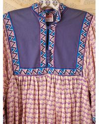Free People | Multicolor Vintage Cotton Boho Dress | Lyst