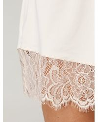 Free People - Natural Micro Tap Pant - Lyst