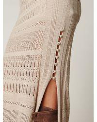 Free People - Natural Birkin Contoured Maxi Dress - Lyst