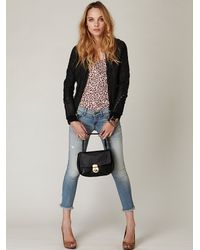 Free People - Multicolor Touch Of Love Top - Black Combo - Lyst