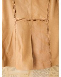 Free People - Brown Vintage Hand Painted Leather Jacket - Lyst