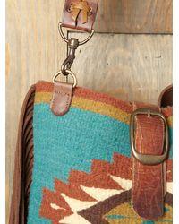 Free People - Blue Palmedo Blanket Bag - Lyst