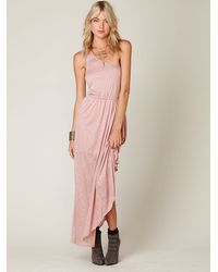 Free People | Purple Goddess Dress | Lyst