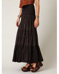 Free People | Black Ziller Park Convertible Maxi | Lyst