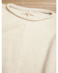 Lauren Manoogian | White Womens Alpaca Wool Blanket Pullover | Lyst