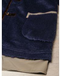Sasquatchfabrix - Blue Mens Wool Blend Ninja Coat for Men - Lyst