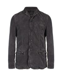 AllSaints - Brown Corduane Milliner Blazer for Men - Lyst