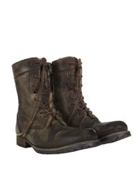 AllSaints - Brown Spire Boot for Men - Lyst