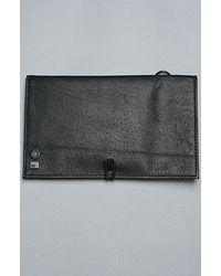 Comune | The Davis Travel Wallet in Black for Men | Lyst