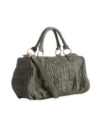 Deux Lux | Gray Grey Quilted Heart Love Drops Duffel Bag | Lyst