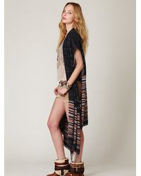 Free People | Gray Latitude 30 Wrap | Lyst