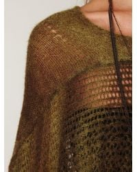 Free People - Green Watson Cape - Lyst