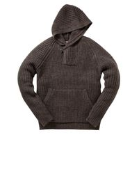 French Connection - Gray Cat and Mouse Knit Cardigan for Men - Lyst