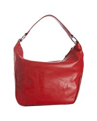 Furla | Red Geranio Pebble Leather Hope Shoulder Bag | Lyst