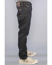 G-Star RAW - Blue Arc 3d Slim Jeans In Washed Grey for Men - Lyst