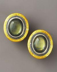 Gurhan - Multicolor Labradorite Gauntlet Earrings - Lyst