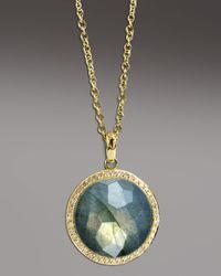 Ippolita   Blue Labradorite Pendant Necklace   Lyst