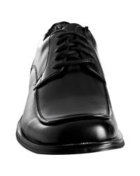 Kenneth Cole Reaction - Black Leather Strong Force Oxfords for Men - Lyst