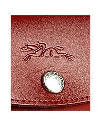 Longchamp | Red Braise Coated Nylon Planetes Mini Tote | Lyst