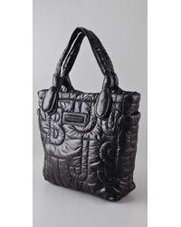 Marc By Marc Jacobs - Black Pretty Puffer Little Tate Tote - Lyst