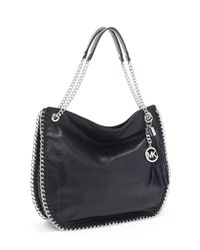 Michael Kors - Large Chelsea Shoulder Bag, Black - Lyst