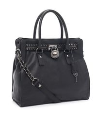 Michael Kors | Large Hamilton Rock N Roll Tote, Black | Lyst
