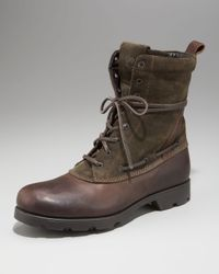 Moncler | Brown Montreal Boot for Men | Lyst