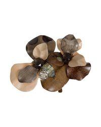 Patrizia Pepe | Brown Jewelry Buckle | Lyst