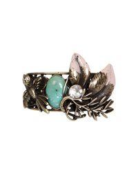 Patrizia Pepe   Metallic Junk Jewelry Bracelet   Lyst
