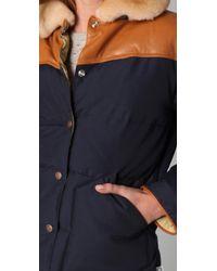 Penfield - Blue Rockwool Puffer Jacket - Lyst