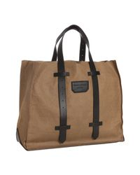 Proenza Schouler | Brown Paperbag Leather Ps1 Large Shopping Tote | Lyst