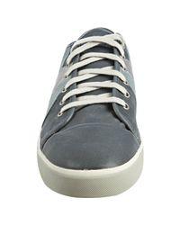 PUMA - Gray Dark Slate Leather Wellenbande Sneakers for Men - Lyst