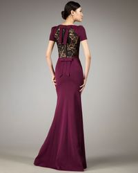 Robert Rodriguez - Purple Angela Gown - Lyst