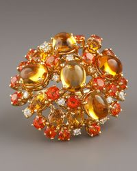 Roberto Coin - Fireworks Ring, Orange - Lyst