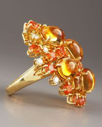 Roberto Coin | Fireworks Ring, Orange | Lyst