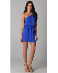 Rory Beca - Blue Tempest One Shoulder Dress - Lyst
