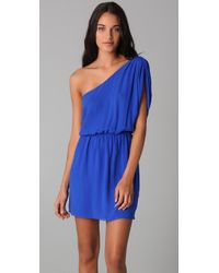 Rory Beca | Blue Tempest One Shoulder Dress | Lyst