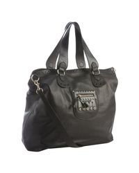 See By Chloé | Black Leather Hilo Double Function Tote Bag | Lyst