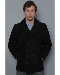 Spiewak | Black Dugan Pea Coat for Men | Lyst