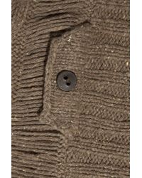 Textile Elizabeth and James - Brown Eleanor Cocoon Cable-knit Cardigan - Lyst