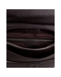 Tod's - Coffee Brown Leather Briefcase for Men - Lyst