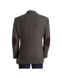 Tommy Hilfiger - Brown Tan Plaid Tweed Wool Two-button Blazer for Men - Lyst