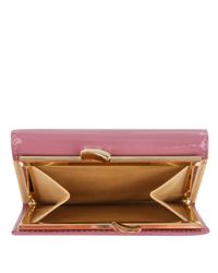 Vivienne Westwood | Pink Patent Leather Ebury Clip Purse | Lyst