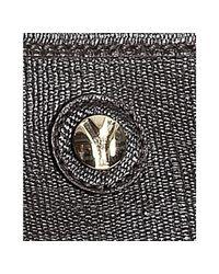 Saint Laurent - Brown Chocolate Saffiano Leather Shoulder Bag for Men - Lyst